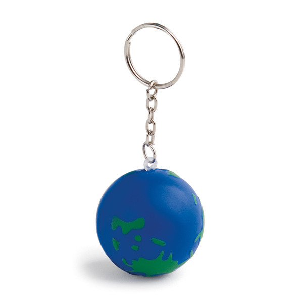 Anti-stress keyring.